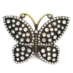 Spona na opasek motýl
