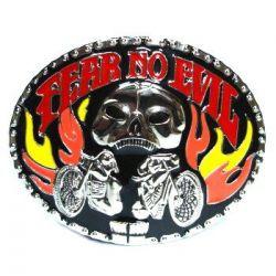 Spona na opasek fear no evil