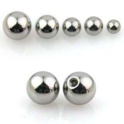 Piercing-náhradní kulička 4mm, závit 1,6mm
