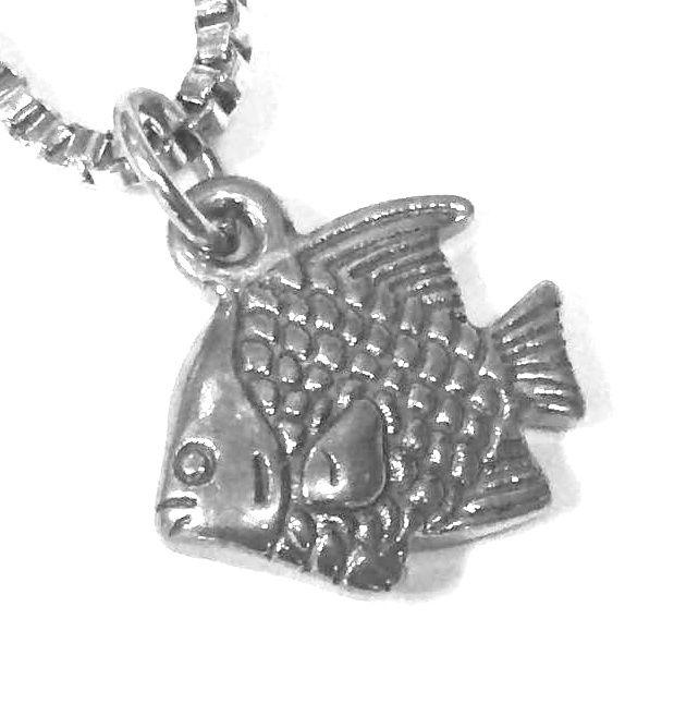 Přívěsek z oceli ryba