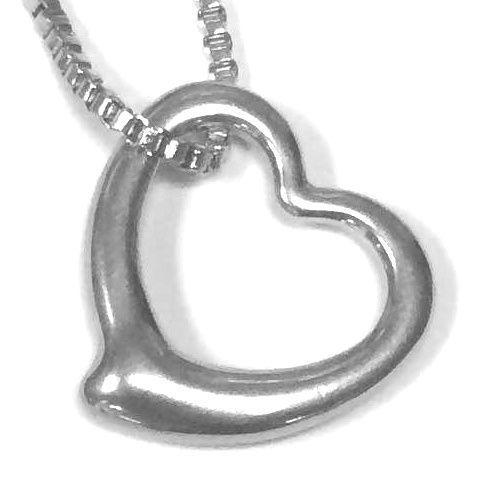 Přívěsek z oceli srdce