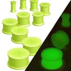 Piercing plug fluorescenční 25mm