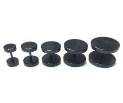 Fake plug černý 12mm