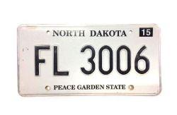 Americká SPZ - North Dakota
