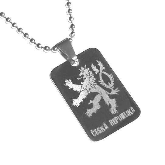 Přívěsek Český lev