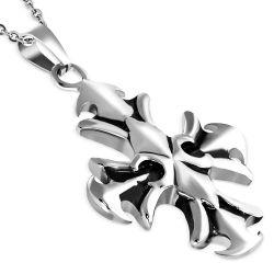 Přívěsek z chirurgické oceli kříž