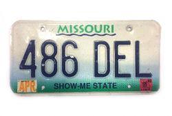 Americká SPZ - Missouri