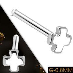 Nosovka z chirurgické oceli kříž