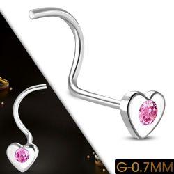 Nosovka z chirurgické oceli srdce