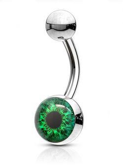 Piercing do pupíku oko