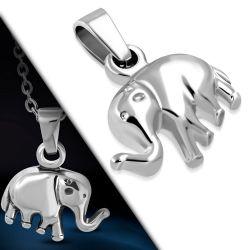 Přívěsek z chirurgické oceli slon