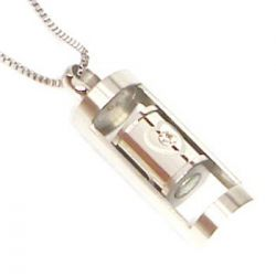 Přívěsek z chirurgické oceli s magnety