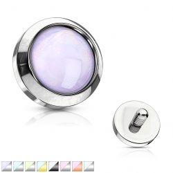 Microdermal fialový