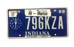 Americká SPZ - Indiana