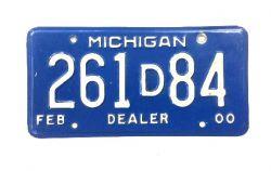 Americká SPZ - Michigan