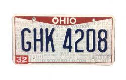 Americká SPZ - Ohio