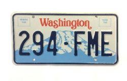 Americká SPZ - Washington