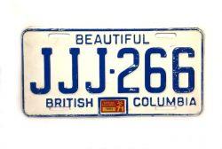 Kanadská SPZ - British Columbia