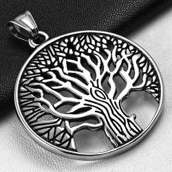 Přívěsek z chirurgické oceli strom života