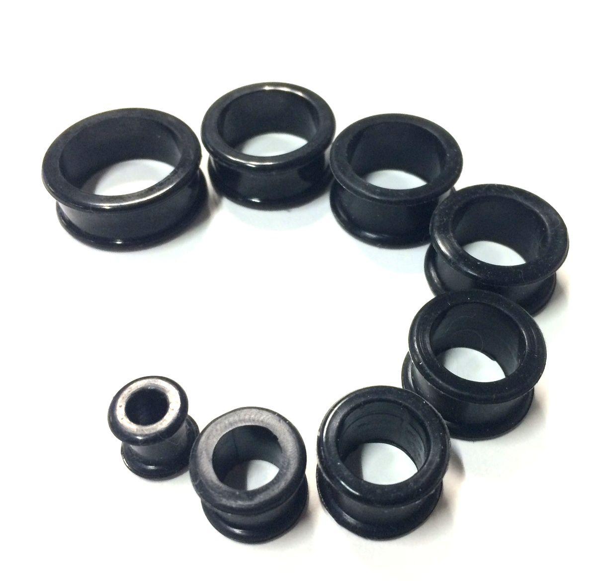 Piercing tunel silikon 28mm Starsteel.cz - šperky z oceli