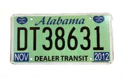 Americká SPZ - Alabama