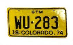 Americká SPZ - Colorado