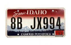Americká SPZ - Idaho