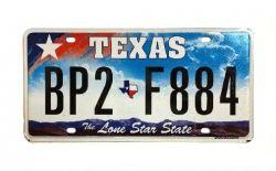 Americká SPZ - Texas