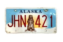 Kanadská SPZ - Alaska