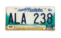 Kanadská SPZ - Manitoba